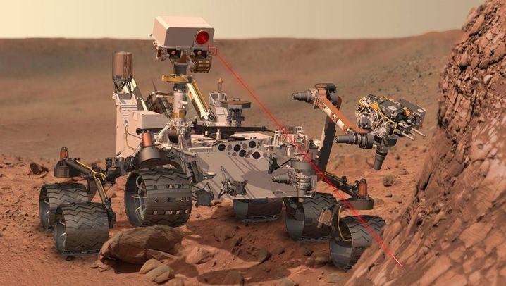 """""""Curiosity"""": Nasa-Roboter hat den Mars erreicht"""