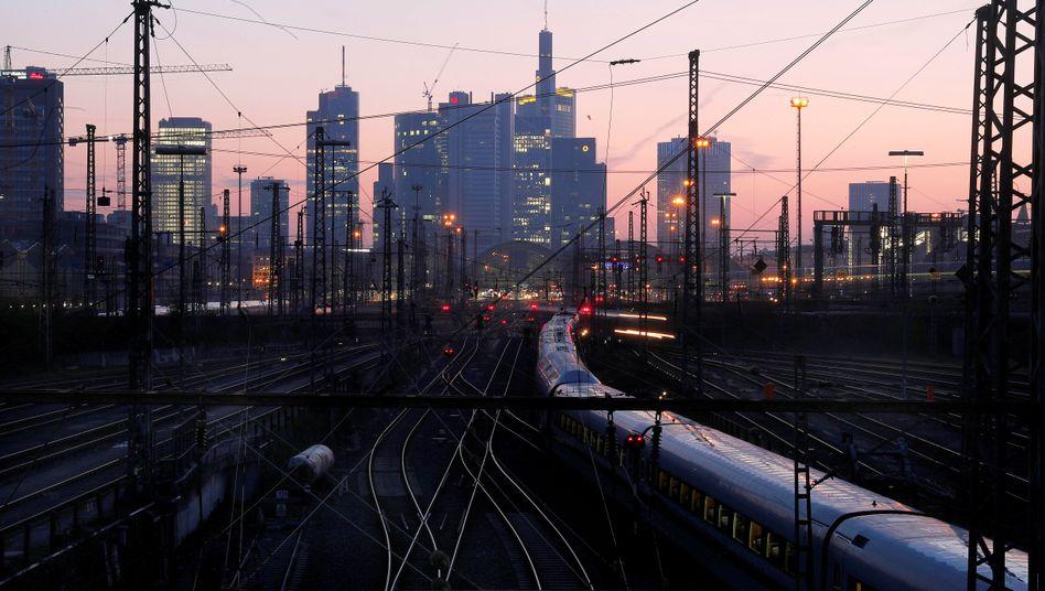 Bahngleise in Frankfurt am Main