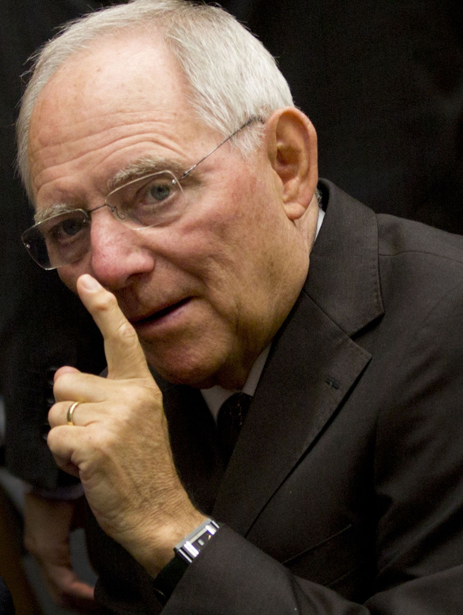 Minister Wolfgang Schäuble
