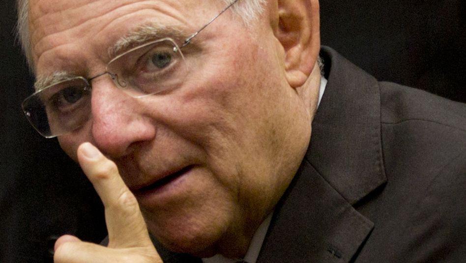 Wolfgang Schäuble: Besorgniserregende Entwicklung