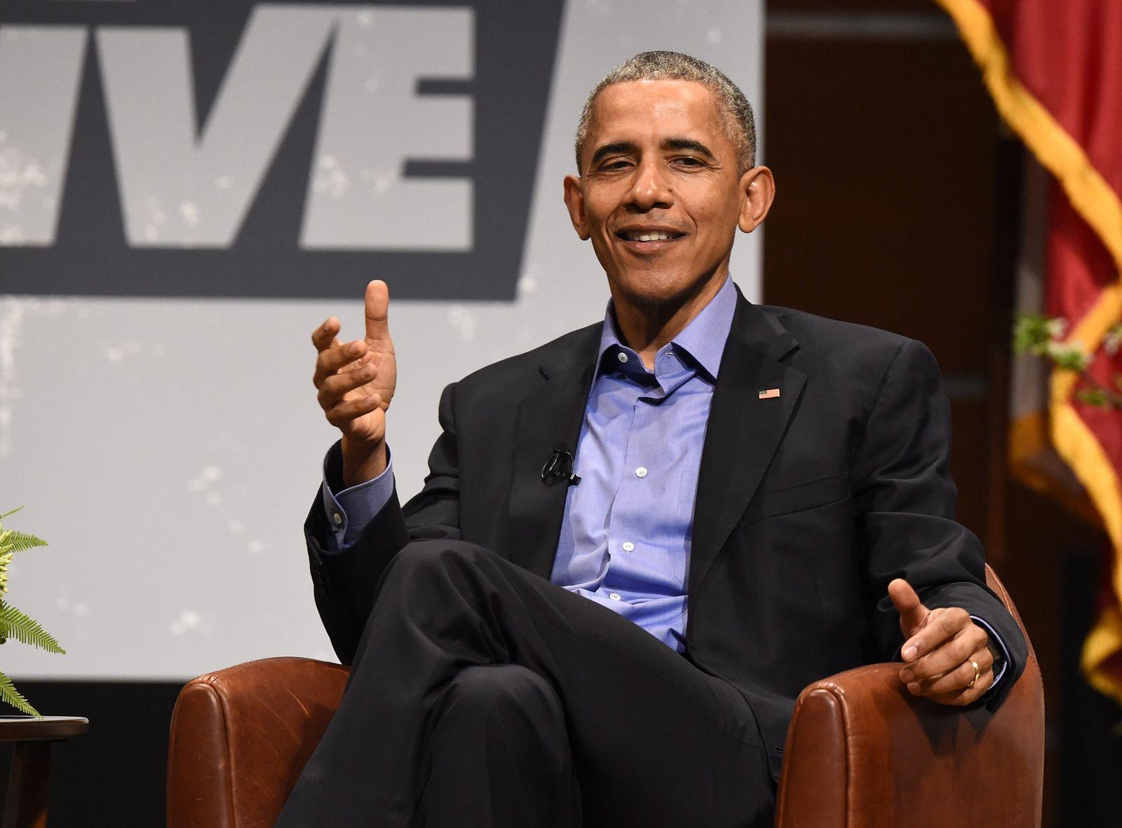 Obama auf der SXSW in Austin