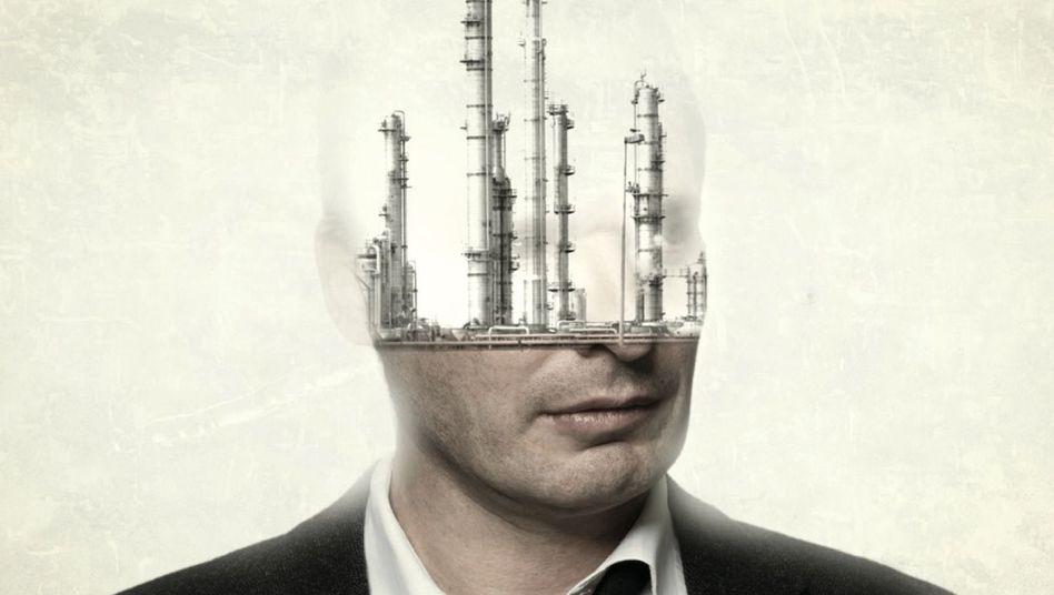 """Motiv: """"Industrial Head"""""""