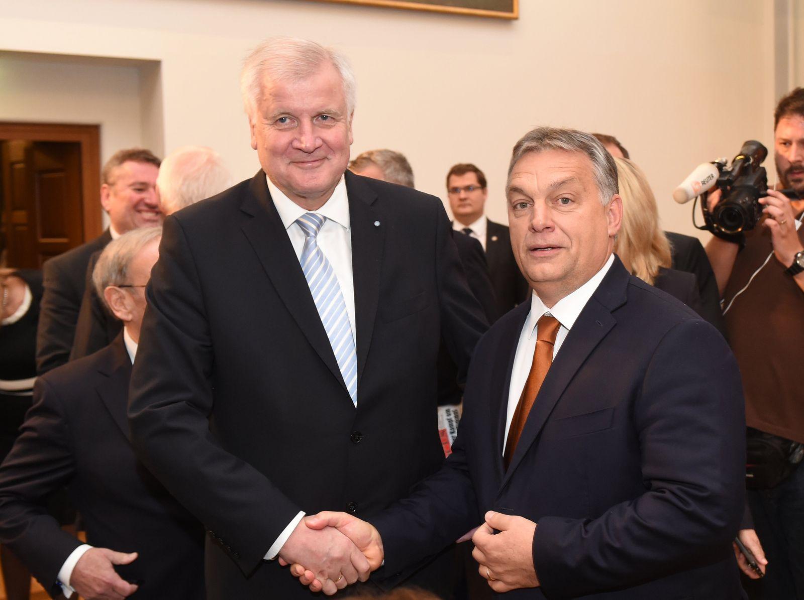Seehofer und Orban in München