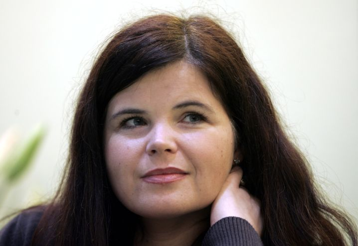 """Julia Franck, Schriftstellerin, Deutscher Buchpreis 2007 für """"Die Mittagsfrau"""""""