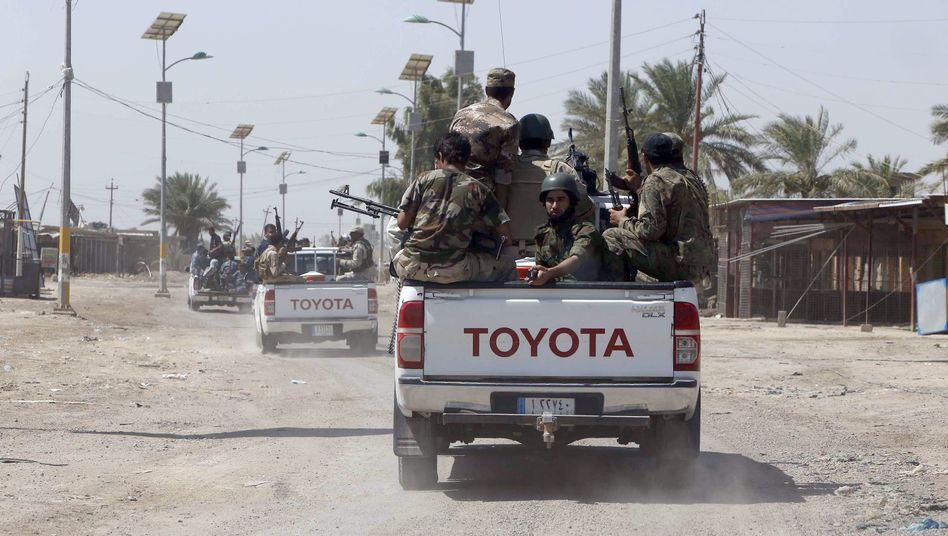 """Kampf gegen """"Islamischer Staat"""": Maliki lässt Panzer inBagdad auffahren"""