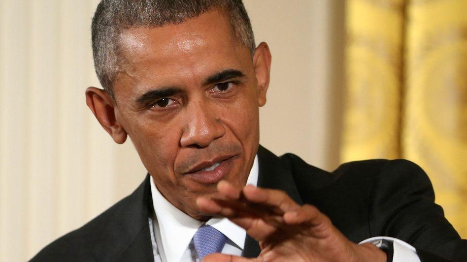 Barack Obama: Ohne das Abkommen steige das Risiko von Krieg und atomarem Wettrüsten