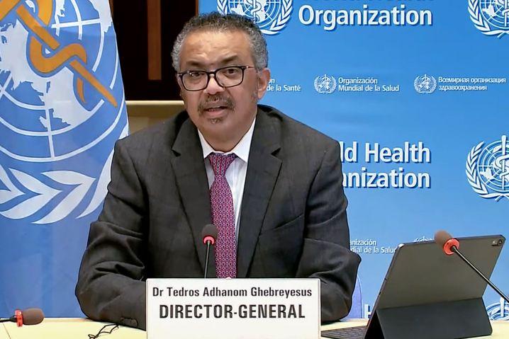 WHO-Chef Tedros: »Die neuen Mutationen, die noch ansteckender sind, verschlimmern die Lage weiter«