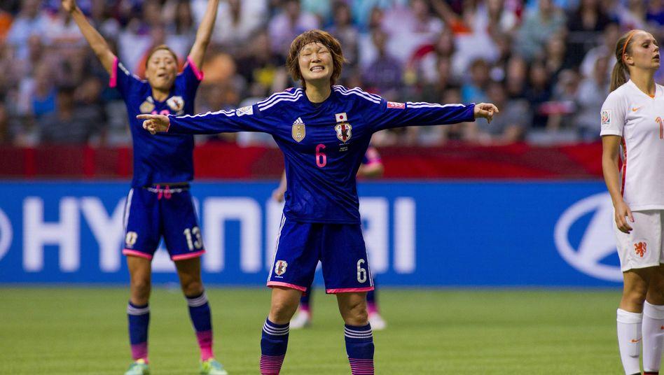 Torschützin Sakaguchi (Nummer 6): Achtelfinalsieg gegen die Niederlande