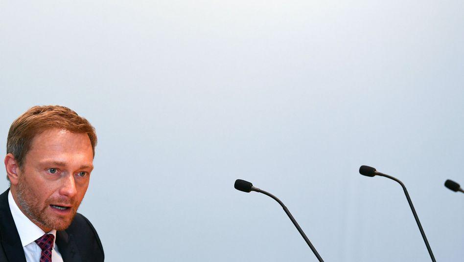FDP-Chef Lindner diese Woche in Düsseldorf