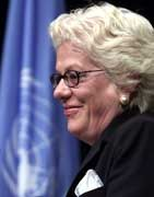 Nicht mehr für das Ruanda-Tribunal zuständig: Carla del Ponte