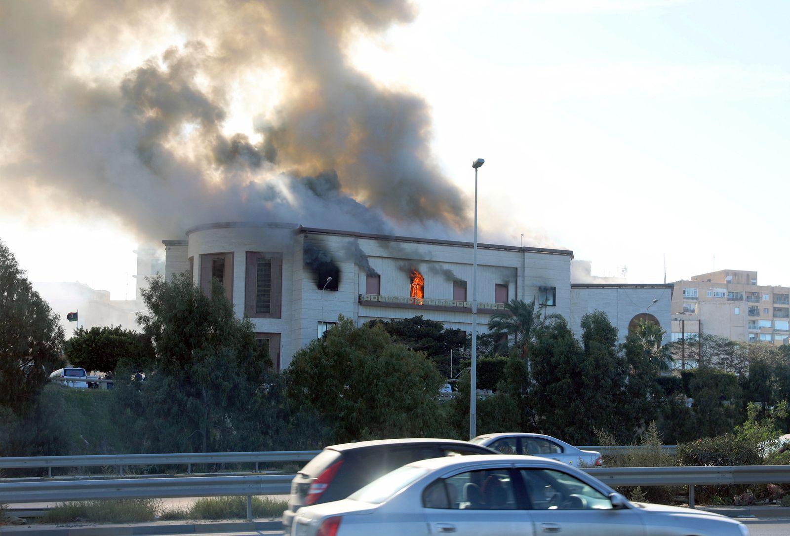 Libyen/ Selbstmordanschlag/ Tripolis