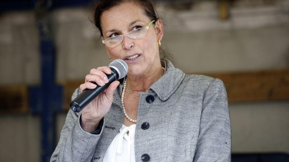 Pegida-Kandidatin Tatjana Festerling (Archiv): Zur Unterstützung der FDP aufgerufen