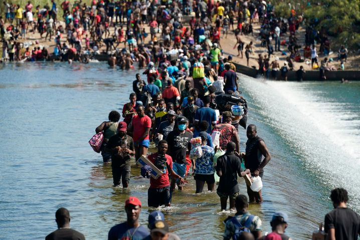 Menschen an der US-Grenze: Humanitärer Notstand