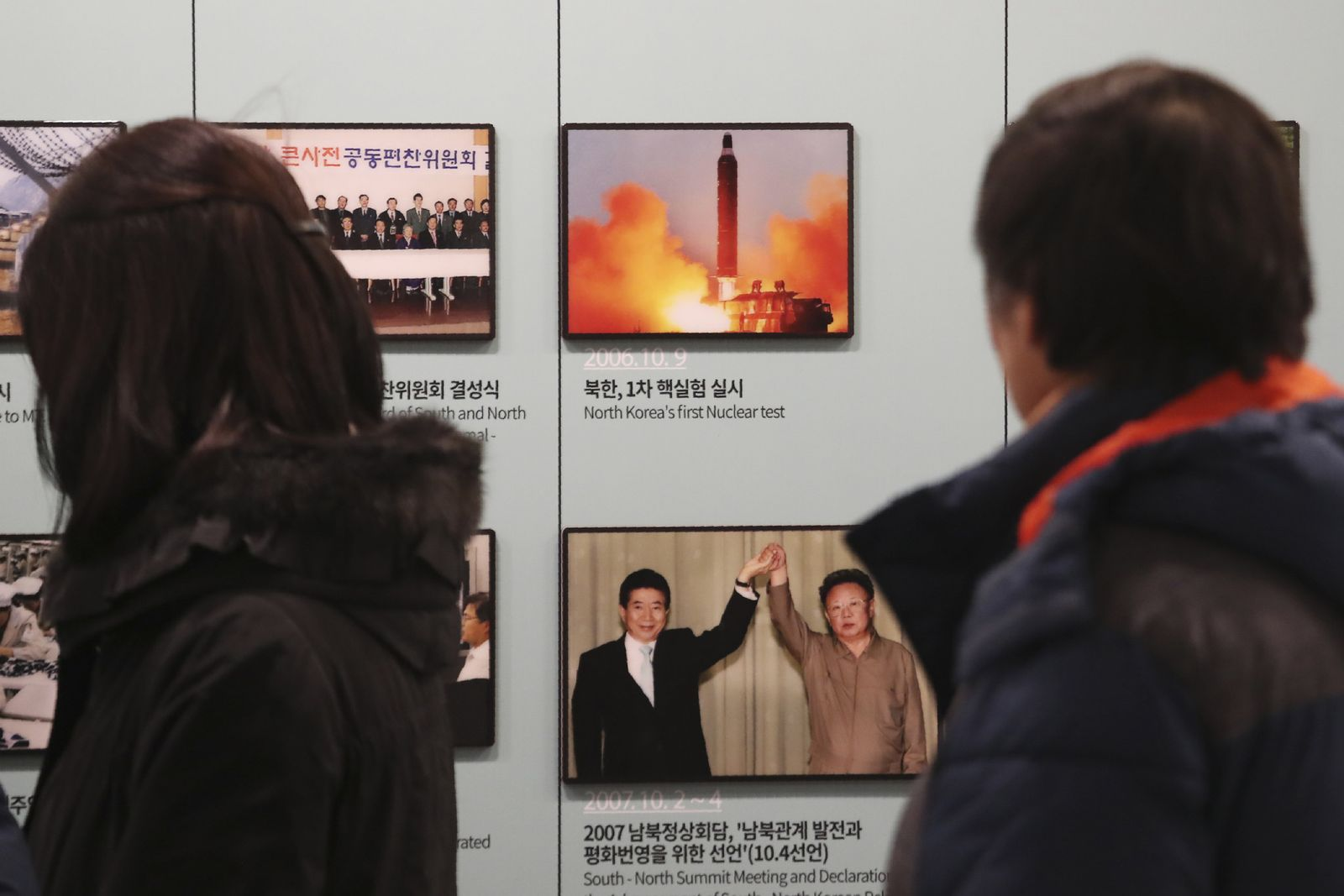 Südkorea / Nordkorea Raketentest