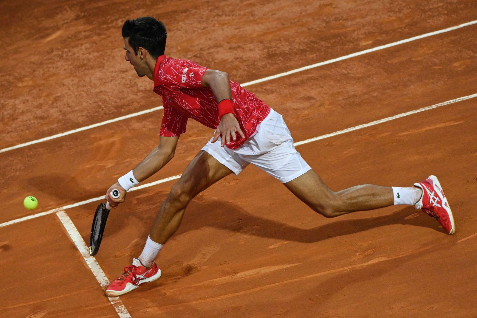 Italian Open 2020, Rome, Italy - 21 Sep 2020