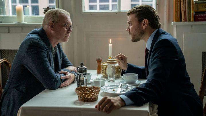 Chefermittler Jens Møller (Søren Maling, l.): Großes Drama, minimalistische Gesten