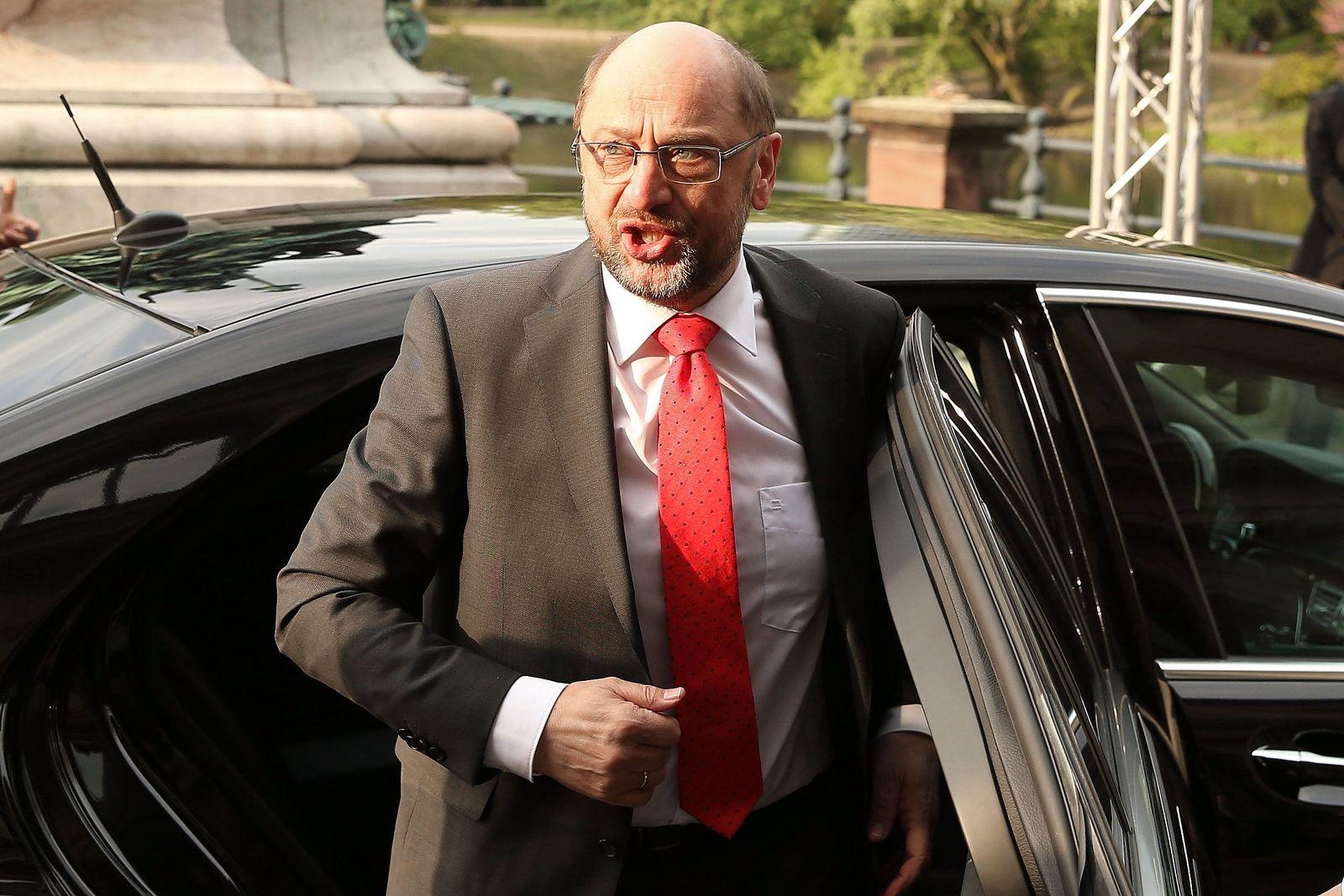 Martin Schulz beim Ständehaus-Treff