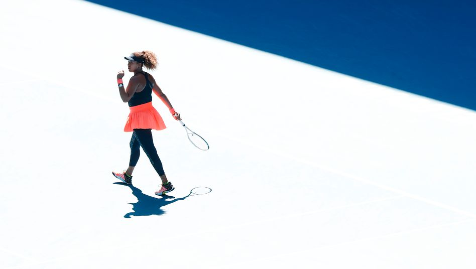 Kein Schatten, nur Licht: Naomi Osaka