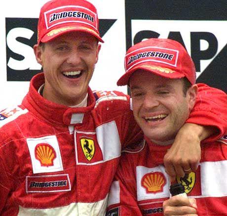"""Michael Schumacher: """"Hoffe, dass Barrichello auch nächstes Jahr mein Teamkollege sein wird"""""""