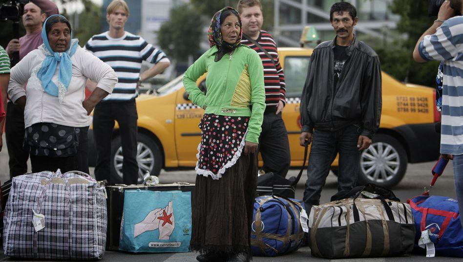 Roma nach Abschiebung in Bukarest: Der Ton zwischen Frankreich und der EU wird schärfer