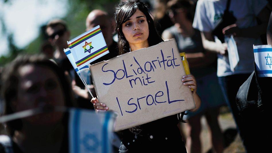 Proisraelische Demonstration am 1. Juni in Berlin: Offensiv dafür geworben