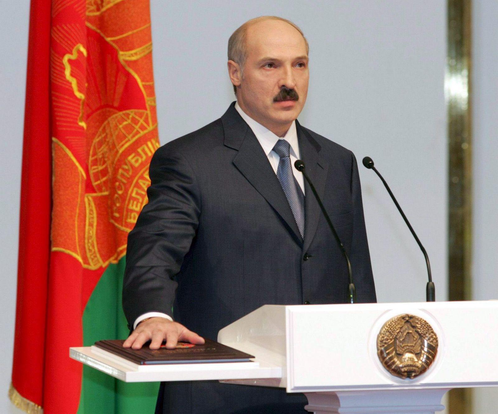 Lukaschenko legt Amtseid ab / Minsk