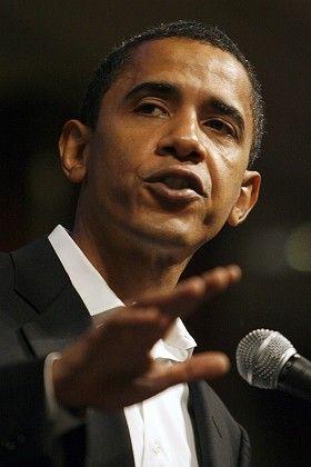 Senator Barack Obama has his eyes on the White House.