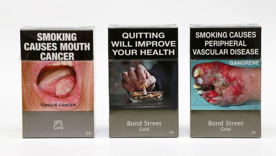 Zigarettenschachteln in Australien (Archivbild)