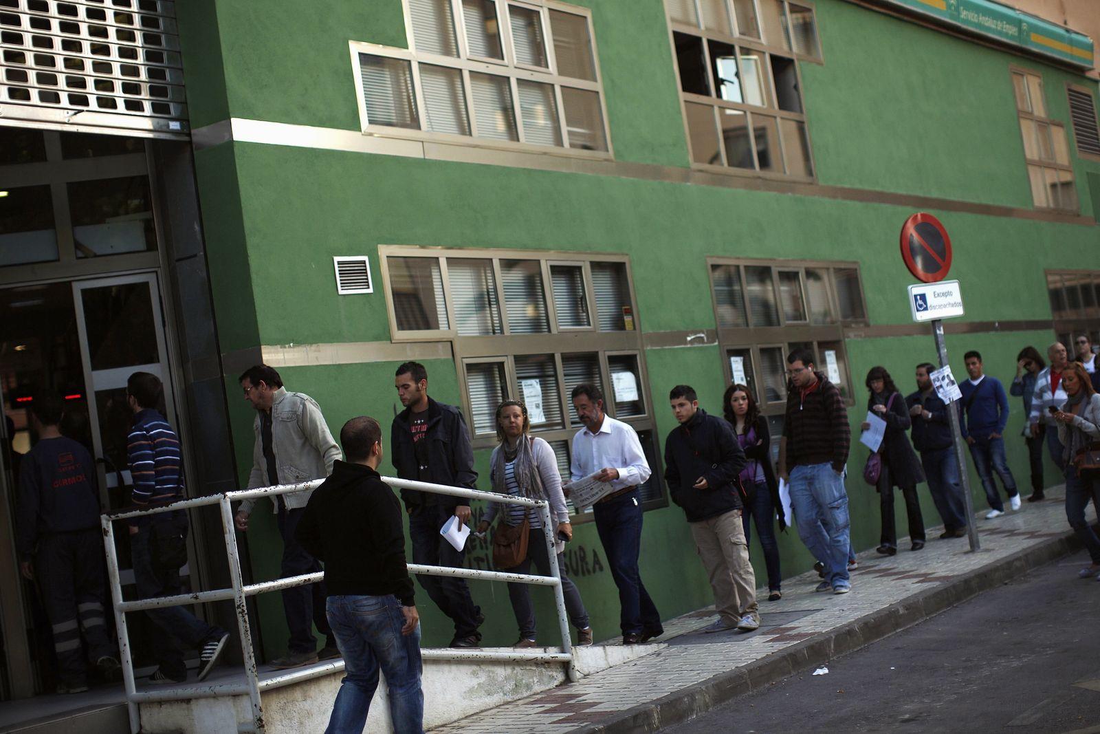 Spanien Arbeitslose