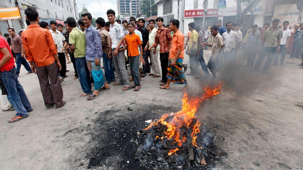 Bangladesch: Gewaltsamer Protest der Textilarbeiter