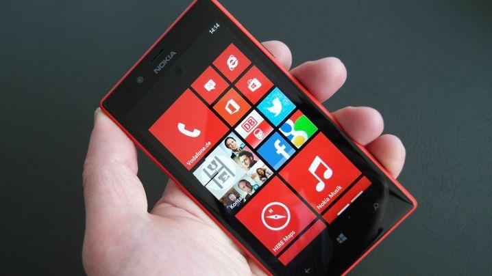 Smartphone mit Windows Phone 8: Nokia Lumia 720 im Test