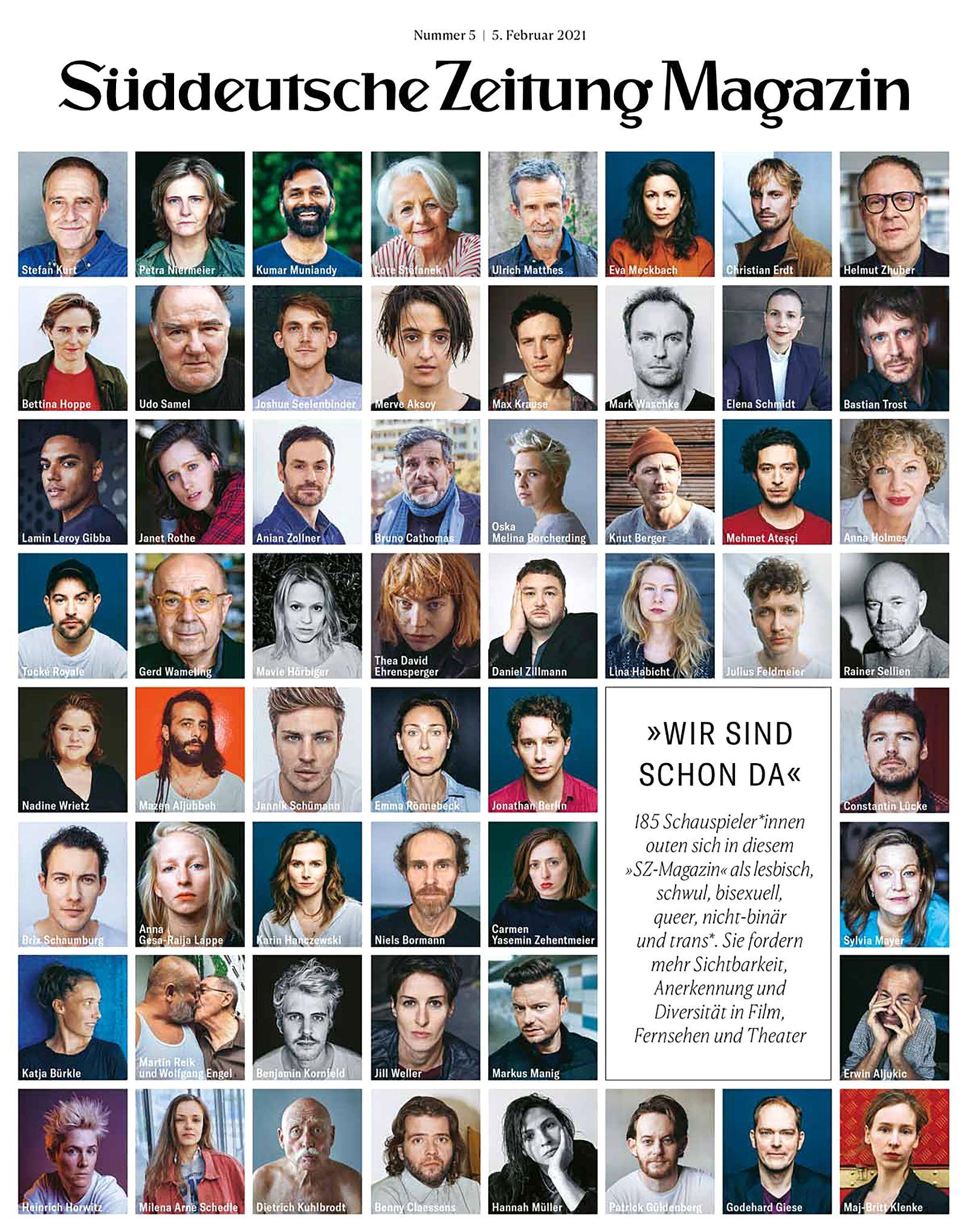 SZ-Magazin 5/2021 Actout COVER
