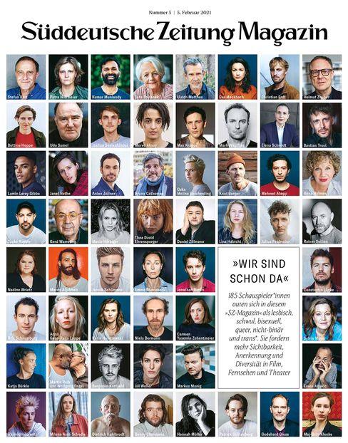 Cover der »SZ«-Magazin-Ausgabe