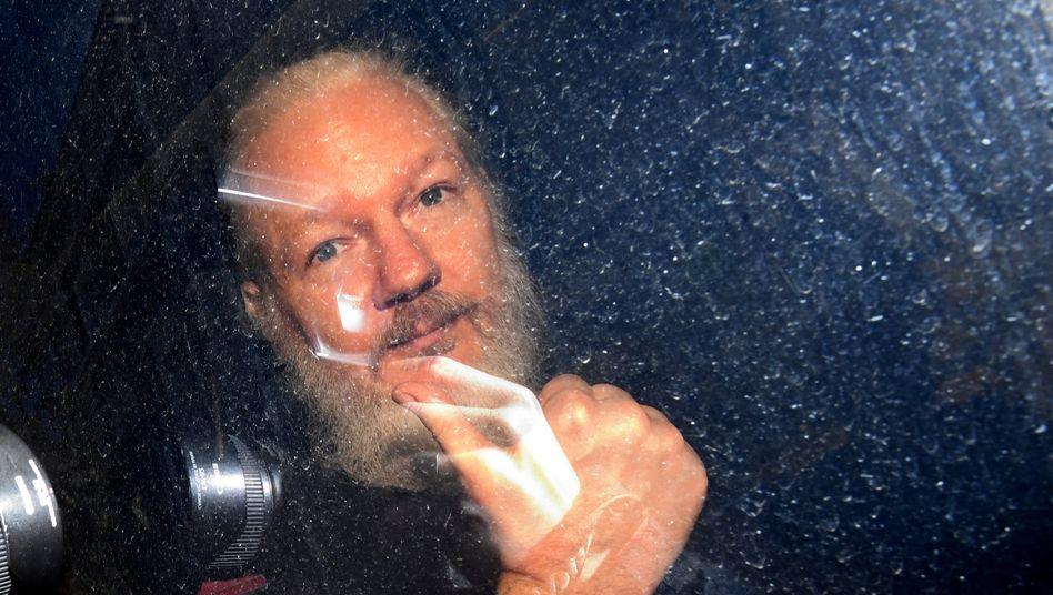 Julian Assange (Archivfoto von 2019)