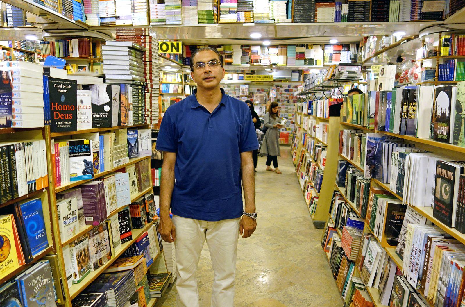EINMALIGE VERWENDUNG Islamabad/ Saeed Book Bank