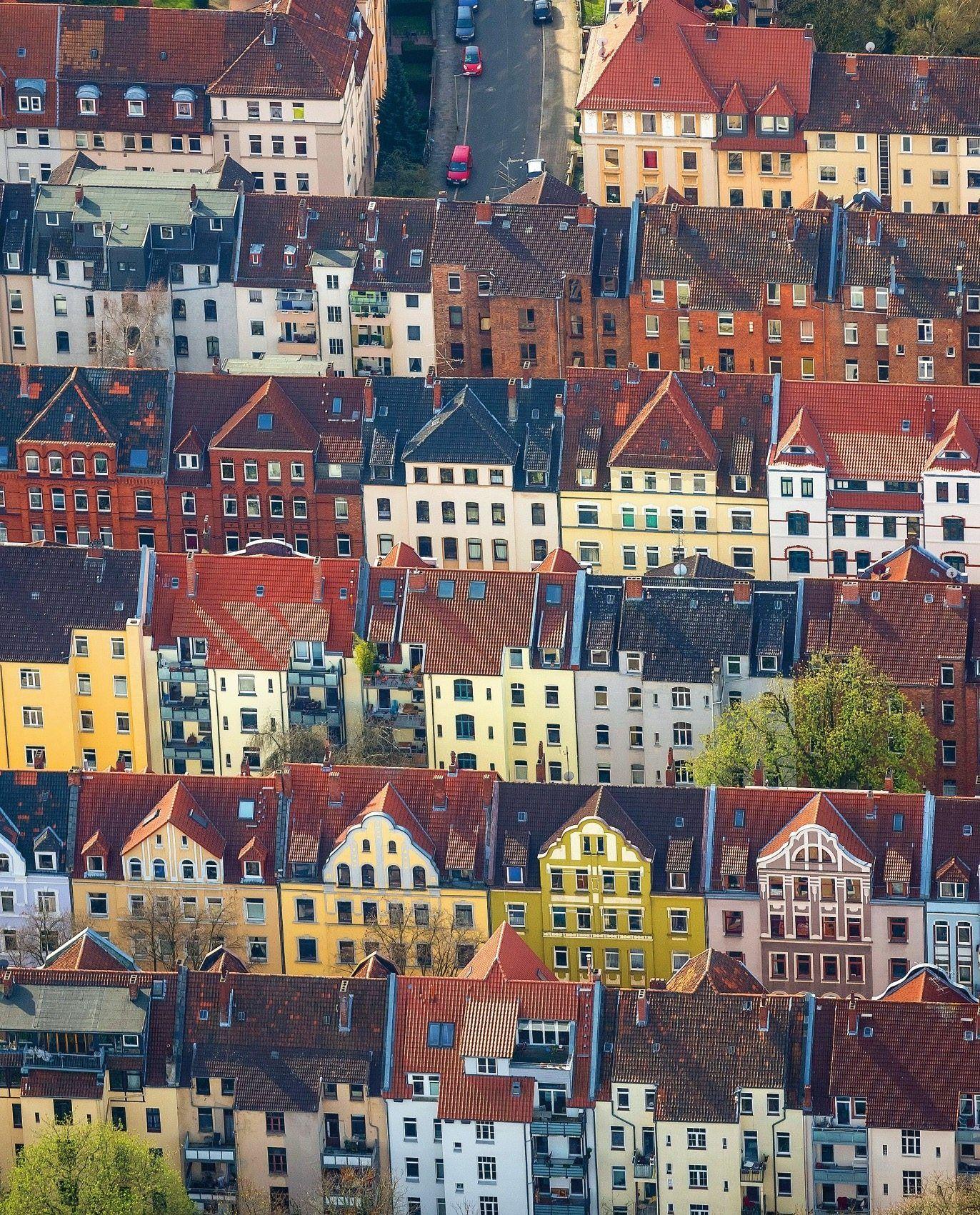 Wohngebiet in Hannover