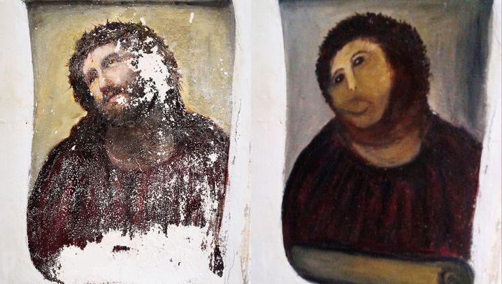 Kunstbanausen in Aktion: Der Picasso ist futsch