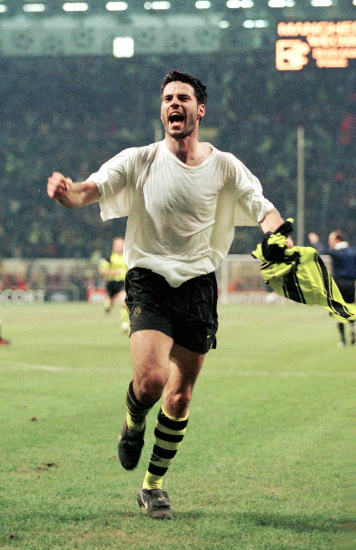 EINMALIGE VERWENDUNG René Tretschok/ Manchester United/ Borussia Dortmund/ 1997