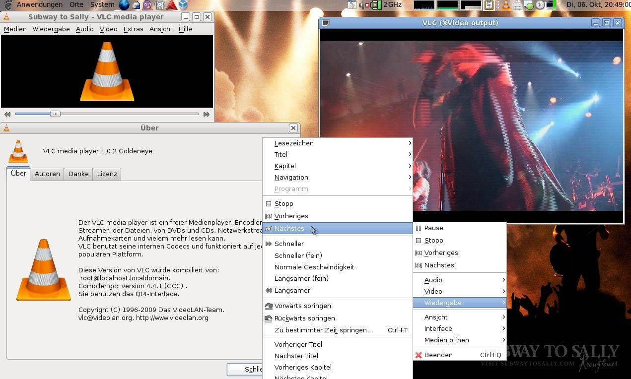 EINMALIGE VERWENDUNG VLC Media Player