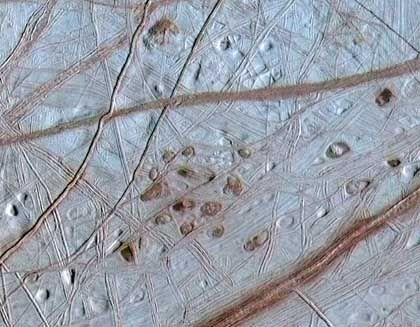 Oberfläche des Jupiter-Monds Europa: Möglicherweise existentes Leben sollte geschützt werden