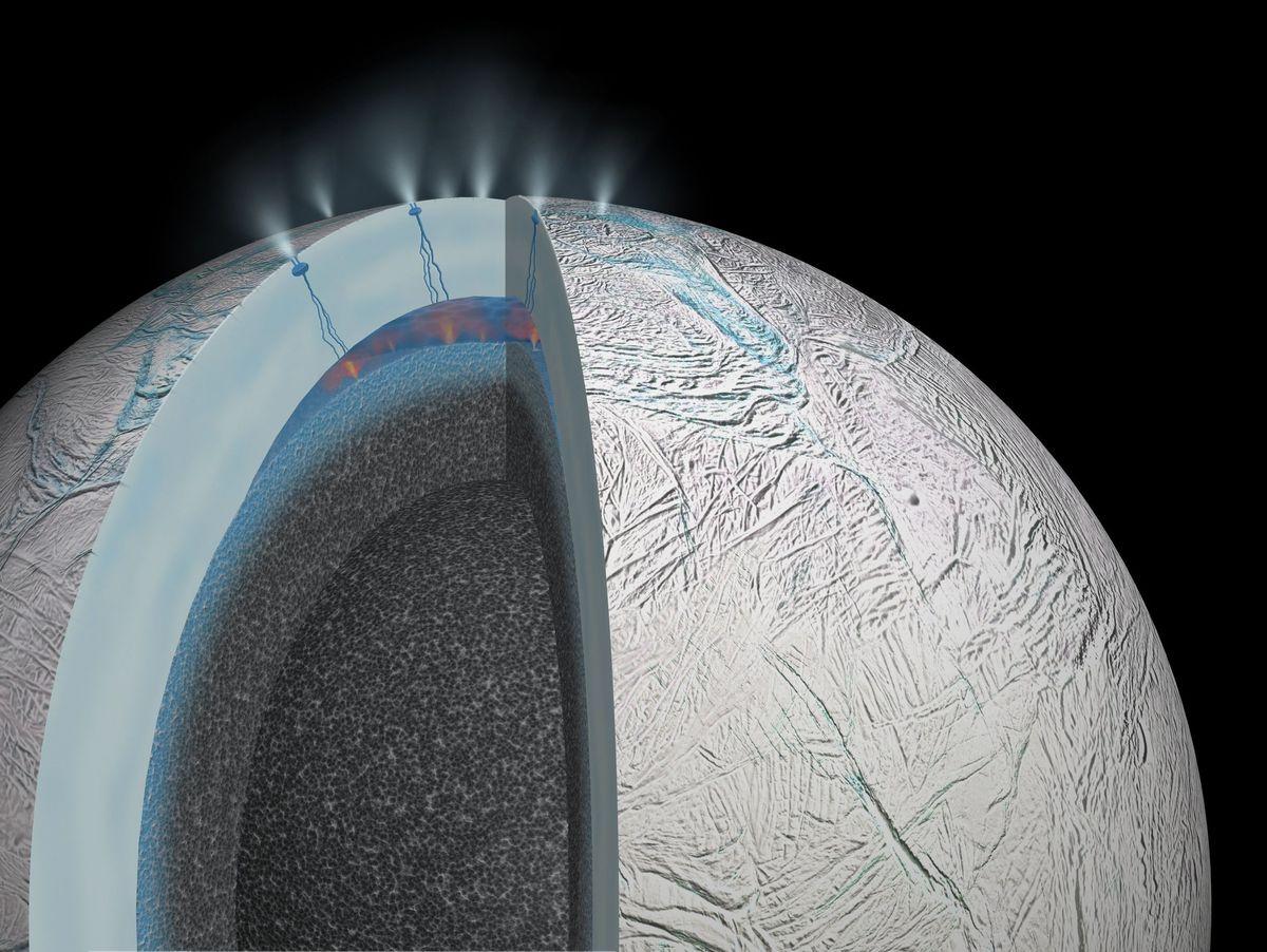 Saturnmond Enceladus: Mögliche Energiequelle für Leben entdeckt - DER  SPIEGEL