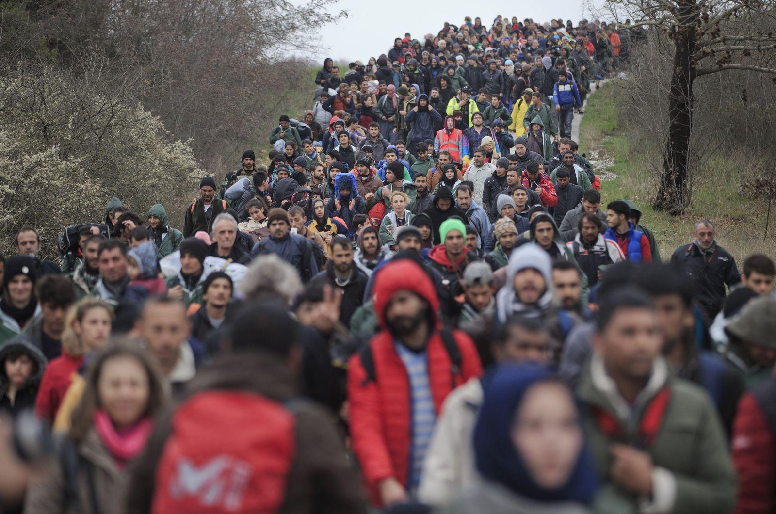 Flüchtlinge / Idomeni