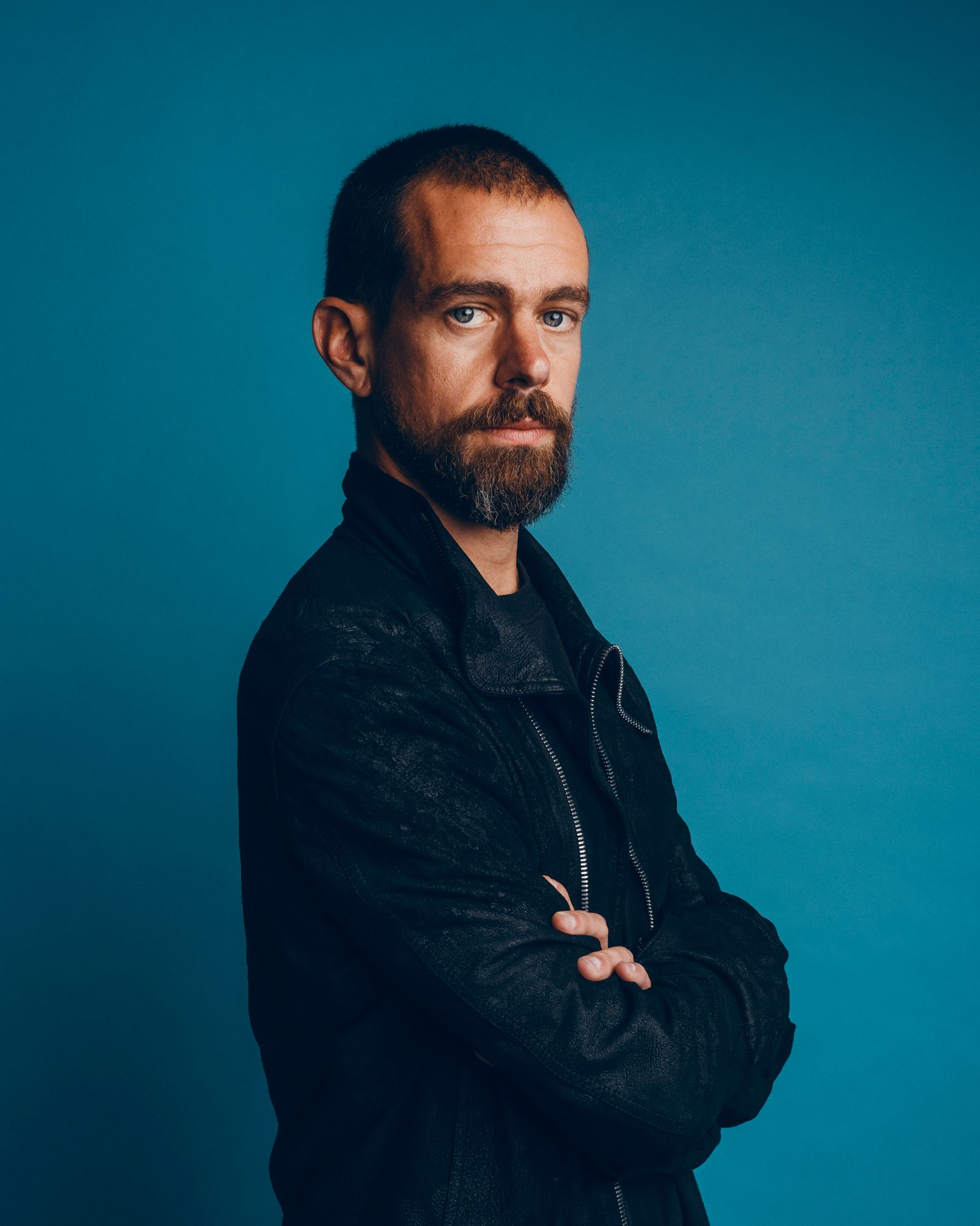 Portrait series of Jack Dorsey