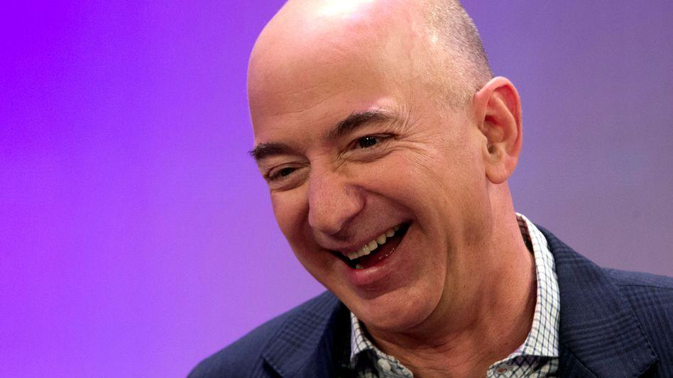 Reichster Mann der Welt: Amazon-Gründer Jeff Bezos