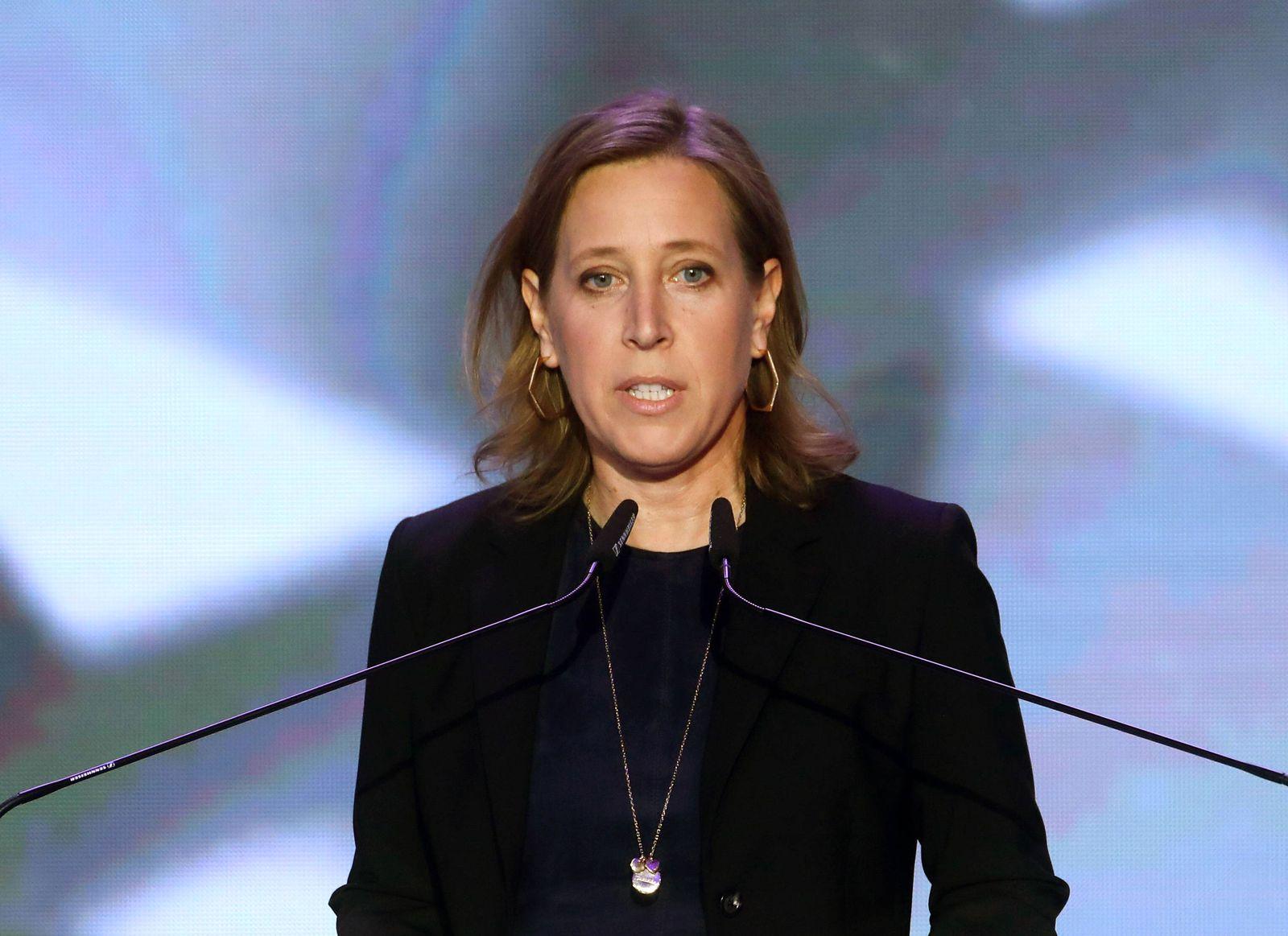 EINMALIGE VERWENDUNG YouTube CEO Susan Wojcicki