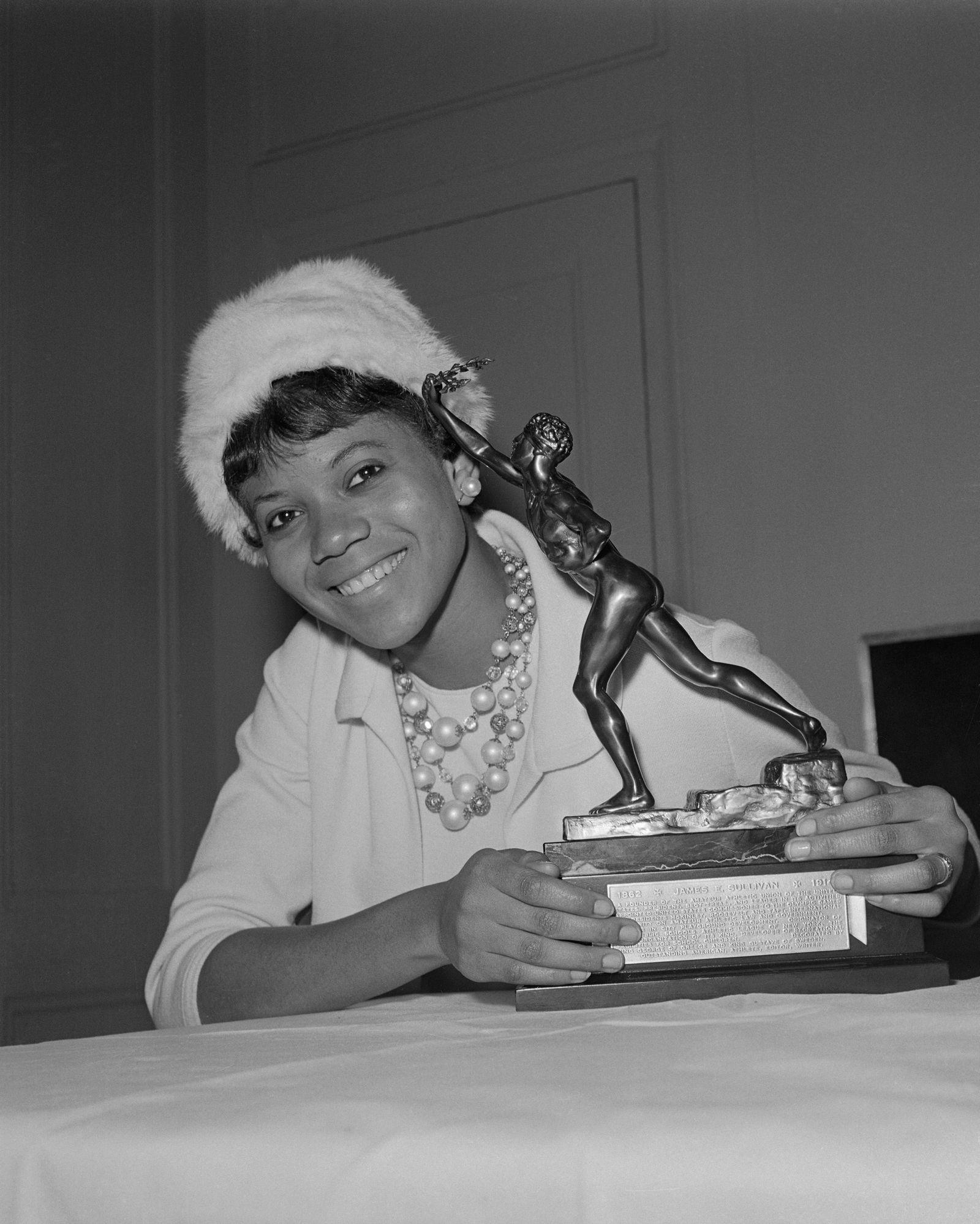 Olympian Wilma Rudolph