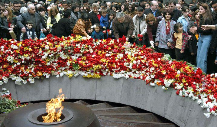 Völkermord-Denkmal in Eriwan (2003)