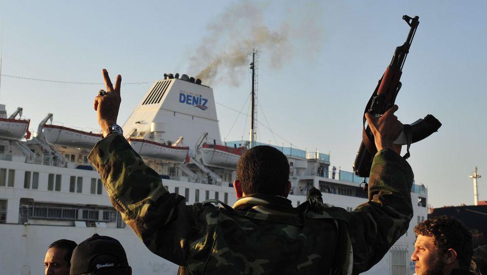Libyen-Krieg: Letzte Hoffnung Lazarettschiff