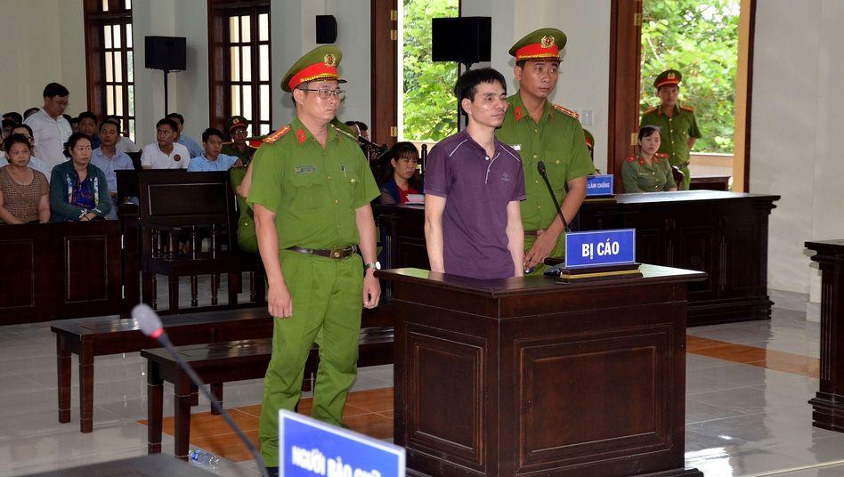 Nguyen Ngoc Anh vor Gericht