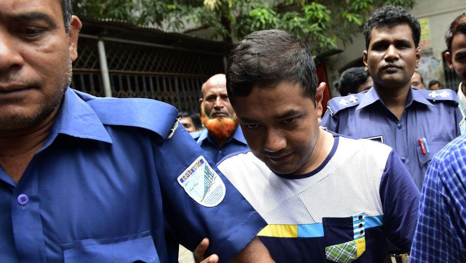 Hauptangeklagter im Rana-Plaza-Prozess, Sohel Rana